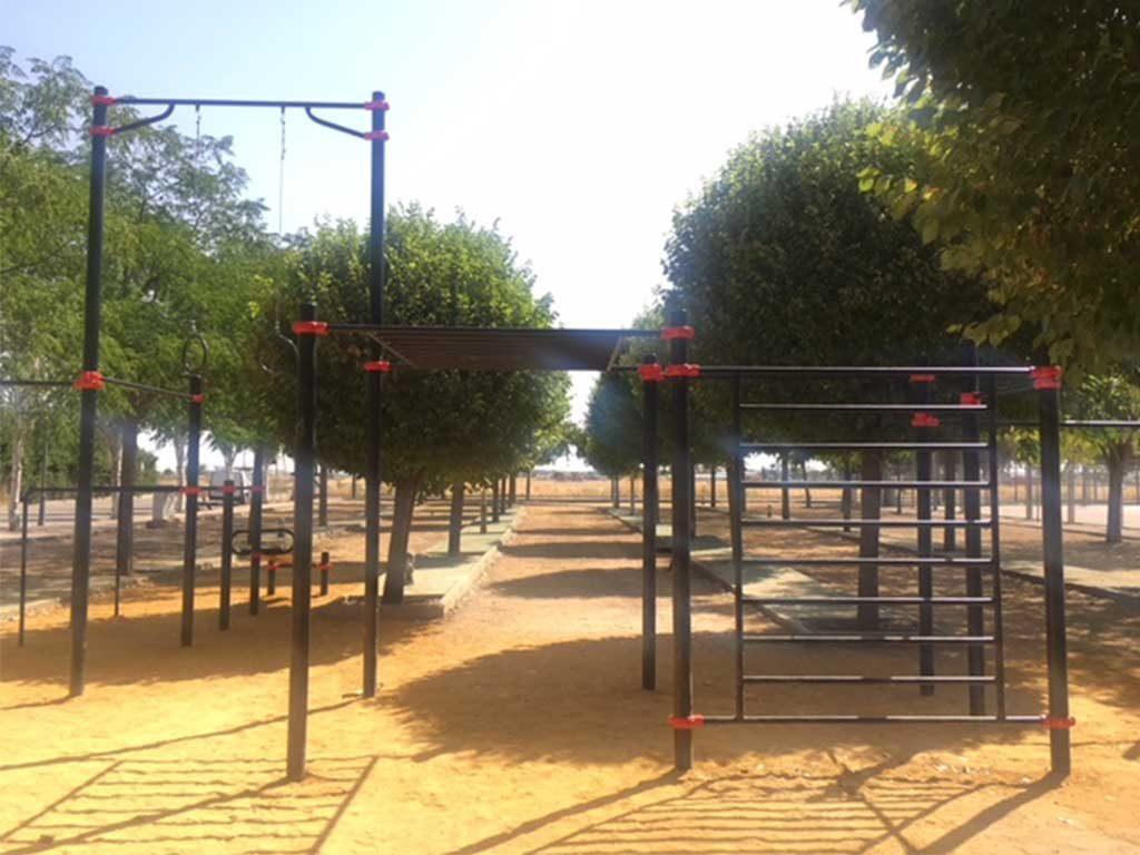 parque calistenia malaga