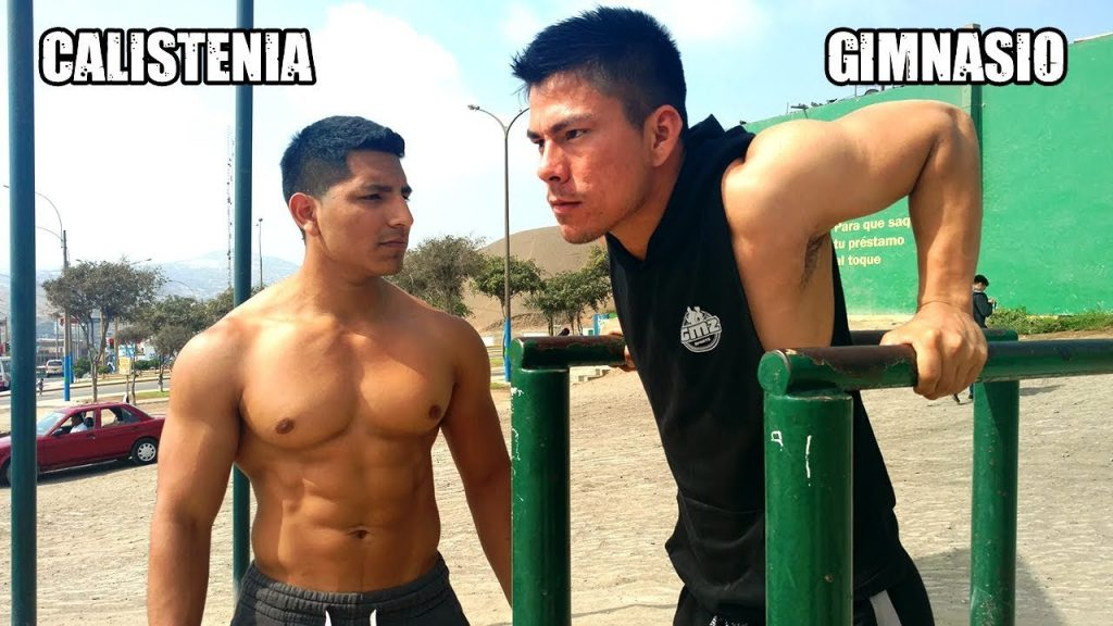 calistenia vs gym fuerza
