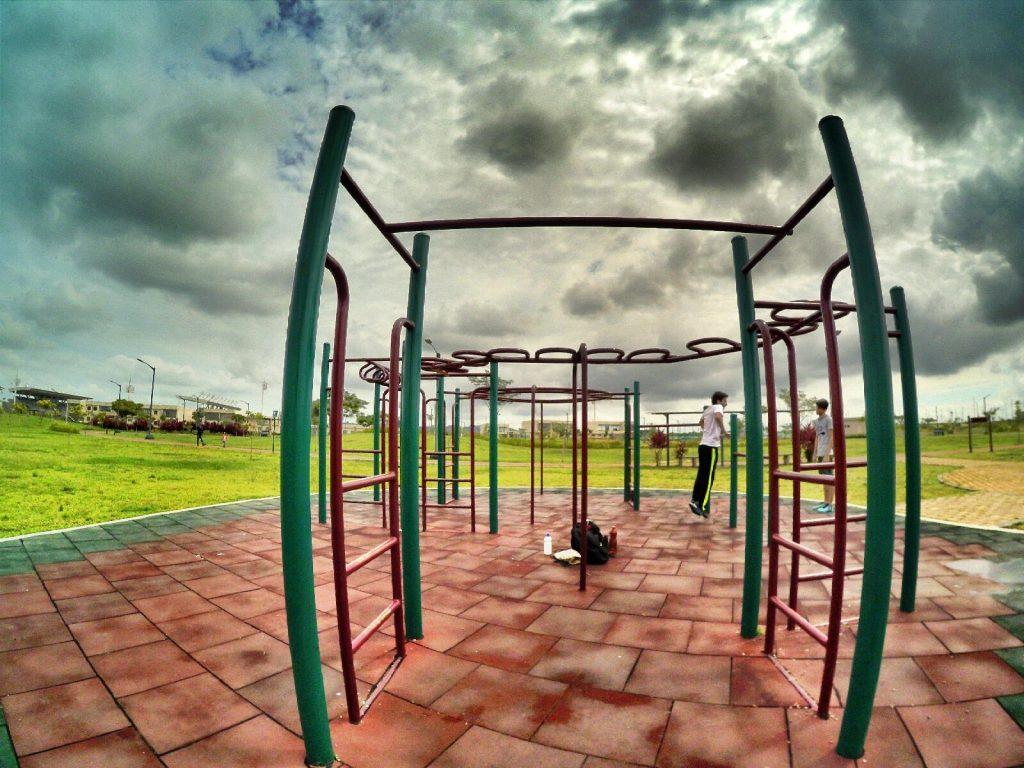 ejercicio calistenia pecho