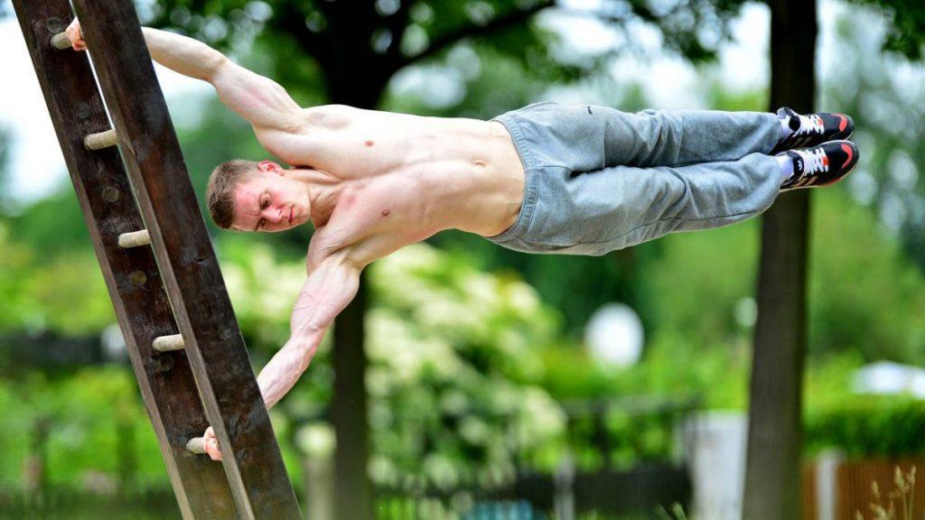 ejercicio calistenia espalda