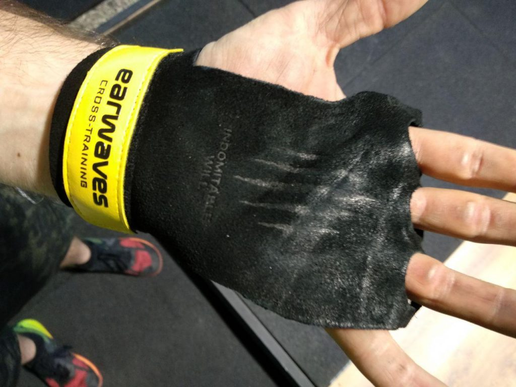 guantes de calistenia