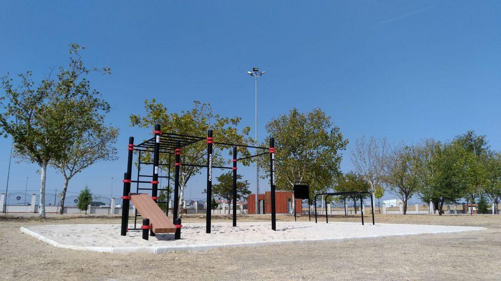parque calistenia madrid